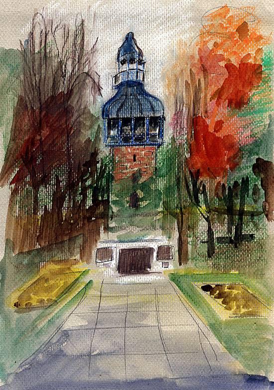 carillon-tower-watercolour