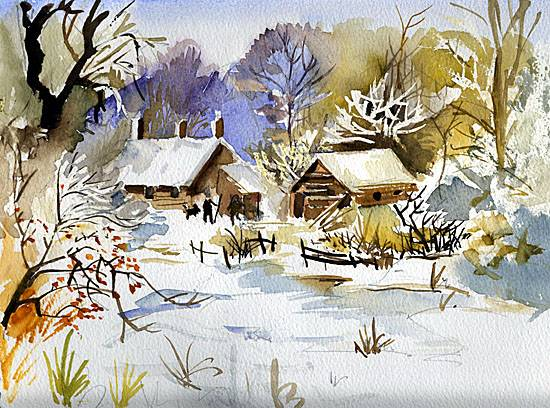 two-cottages-in-the-snow